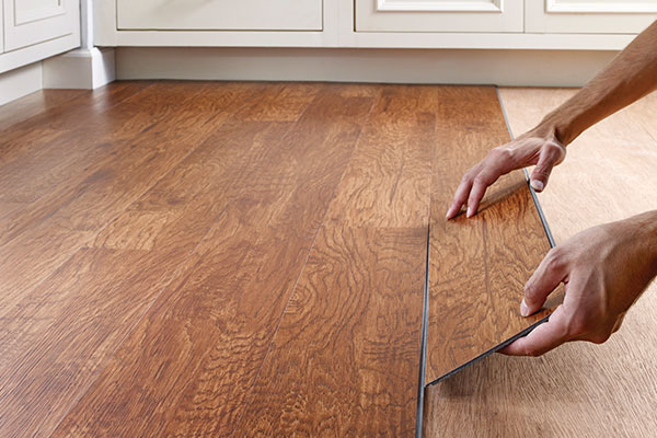 Guide To Lay Laminate And Rubber Floorings, Rubber Laminate Flooring For Bathroom
